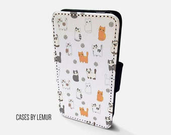 CAT Wallet Case For Samsung Galaxy S6 Wallet Case For Samsung Galaxy S6 Leather Case For Samsung Galaxy S6 Leather Wallet Case For cover