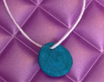 Small Swirled Charms Necklace