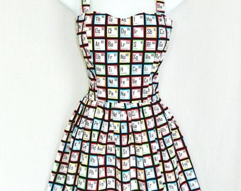 Science Periodic Table dress
