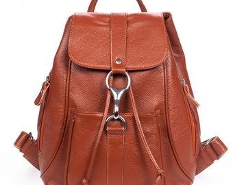 Handmade backpacks, schoolbags, leather backpacks, backpack youth