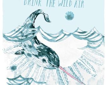 The Wild Air 8 X 10 PRINT