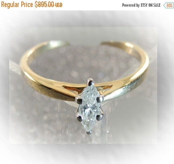 price 14 kt gold marquise by