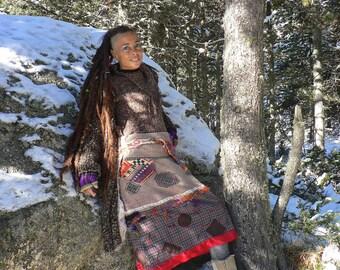 """Nordik"""" skirt in wool"""