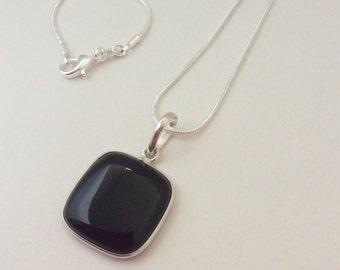 Classy Black Onyx Necklace