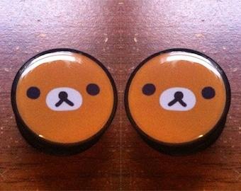Teddy Bear Plugs (Buy 2 Pairs Get 1 Free!)