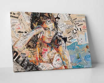 Ines Kouidis 'Hollywood Sold' Gallery Wrapped Canvas Print