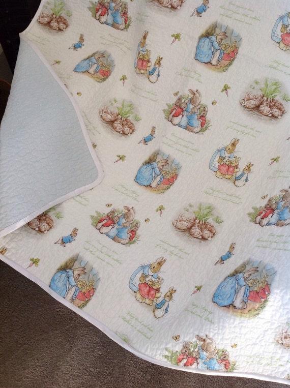 Beatrix Potter Peter Rabbit Baby Quilt Peter Rabbit Nursery