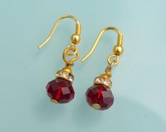 Glass metal Earrings, Glass Dangle Earrings, handmade Glass Earrings, gypsy boho chic earrings, summer chic earrings
