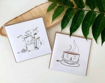 Namastea / Greetings Courier greeting cards