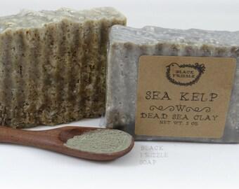 Sea Kelp sea salt soap