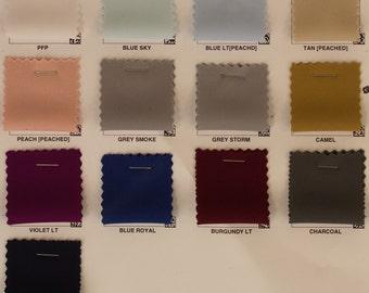 "Solid Stretch Matt Jersey Knit Fabric By The Yard ""MTJR1E"""
