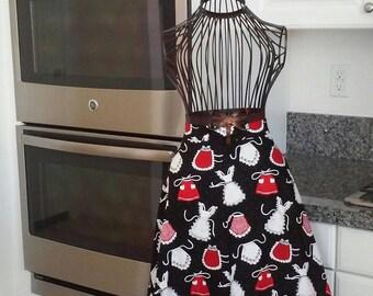 Half apron of aprons!