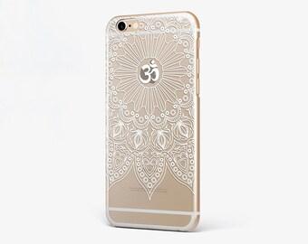 Mandala iPhone Case Buddha iPhone 7 Plus Lotus iPhone 6 Case iPhone 7 Mandala Clear iPhone 6 Plus Case Galaxy Transparent iPhone 4-5 Case