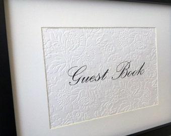 "Wedding ""Guest Book"" Sign, Wedding Guest Book Sign, Guest Book Sign, Wedding Signs"