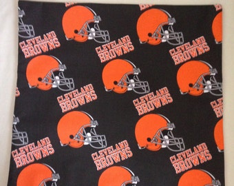 "Cleveland ""Browns"" 16""X16"" Pillow Case/Cover"