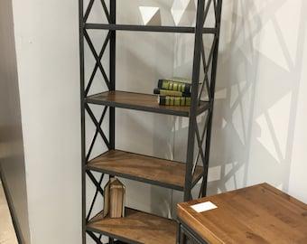 helvetica shelving unit book case storage steel frame modern industrial style carruca desk office
