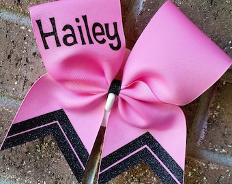 Cheer Bow, Custom personalized with name, Cheer bows, Custom, Bow, School cheer bow, Personalized. Name. Bow.