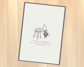Piglet from Whinnie the Pooh printable