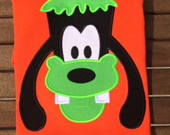 Halloween Goofy Disney World MNSSHP Mickey Minnie Applique Shirt Disney Halloween Shirt Mickey Shirt Halloween Disney Shirt