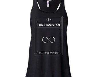 Tarot   The Magician   Flowy Tank