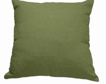 Plain Linen Cushion- Olive Green Cushion- Plain Cushion- Green Pillow- Plain Pillow- Green Throw Pillow- Green Linen Cushion- Cushion Cover
