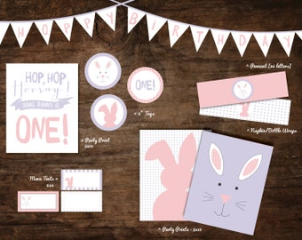 bunny birthday party printables, bunny party, bunny party decorations, some bunny party printables, bunny party, bunny party decorations