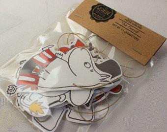 The Moomins Paper Garland