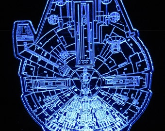 Star Wars Millennium Falcon Night Light