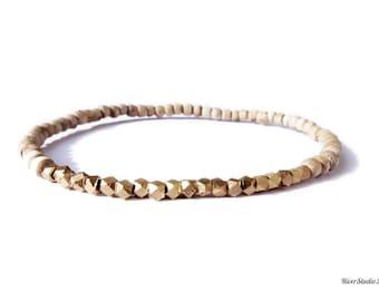 Tulsi Brass Bracelet
