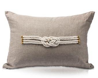 Sailor Knot Pillow
