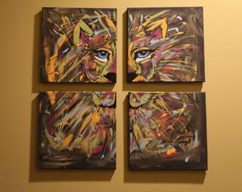 Hubbys Fav 4 12 x 12 canvas