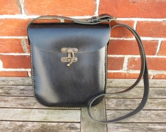 Leather Shoulder Bag, Unique Bag, Purse, Leather Bag, Messenger, Crossbody