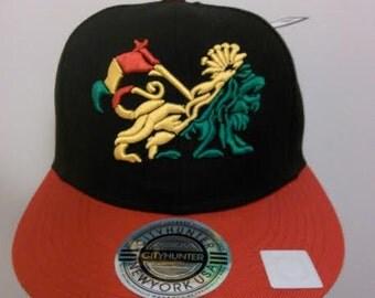 Rasta Lion Baseball Cap