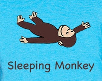 Sleeping Monkey - Youth Tees - NEW RELEASE