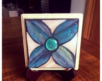 Handmade Stained Glass Mosaic