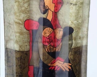 Vintage Picasso scarf