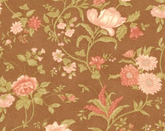 Gypsy Rose - Vintage Rose Copper Fabric