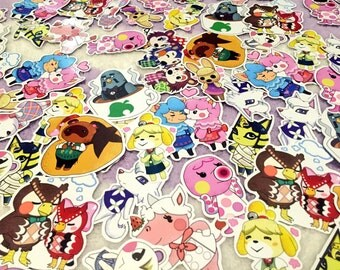Animal Crossing どうぶつの森 Stickers