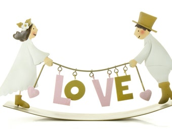 """LOVE"" wedding"