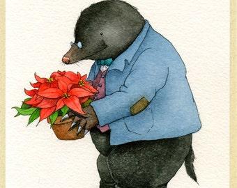 Mr. Mole's Christmas Card