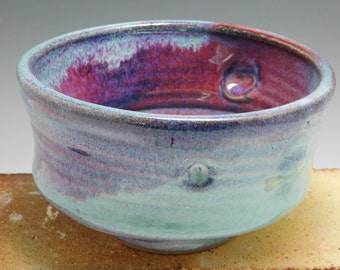 289 - Bowl, Cereal, Soup, Salad, Wheel Thrown and Altered, Colorful