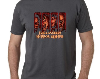 personalized halloween horror nights t shirt universal studios friends trip family fun scary spooky - Scary Halloween Shirts