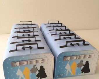 Favor box Star Wars party 6PC