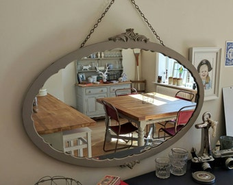 Beautiful ornate genuine Victorian mirror