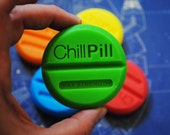 3 x Handmade Large Chill Pill Soap – Novelty, gag soap, christmas Gift, birthday gift, novelty