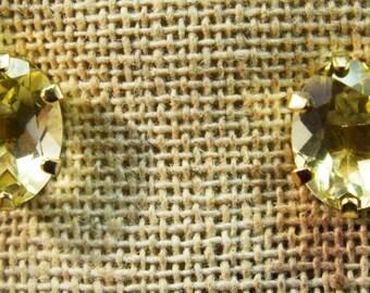 14kt Yellow Gold Lemon Citrine Earrings