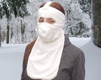 Extreme Cold Weather Thermal Face Mask military stock halloween spooky scary horror winter survival snowboarding snowmobiling mountaineering