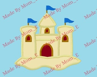 Sandcastle Applique
