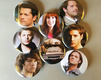 Supernatural Pinback Buttons