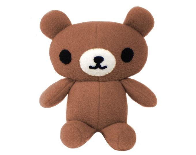 Plush Teddy Bear Pattern